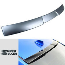 For Subaru STI WRX Sedan 4D Painted Rear Roof Spoiler Wing 2016 #G1U Ice Silver
