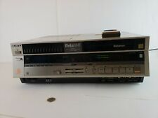 New listing Vintage Sony BetaMax Sl-5200 Vcr in original box with remote