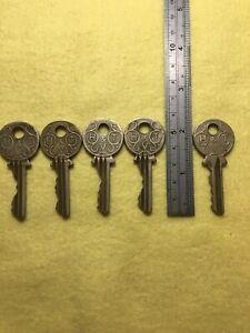 vintage H T Vaughan keys job lot