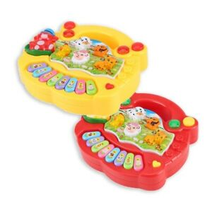 Musical Educational Farm Animal Piano Developmental Music Toys for Kids