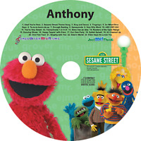 Personalized Elmo And Friends Sing Along CD - Digital Album Download Available