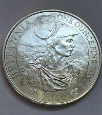 More details for silver  £2 britannia  2010, 1 oz coin in capsule