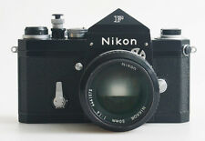 NIKON F 35MM FILM SLR WITH 50MM F/1.4 WITH FILTER