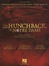 The Hunchback of Notre Dame Vocal Selections Sheet Music Book Piano Musical