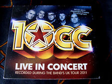 Slip Double: 10cc : Live In Concert Birmingham England 2011  2 CDs Limited Ed
