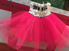 """Doll Clothes Dress Tutu Ballerina Costume Fits 15"""" 16"""" Baby Alive Doll Girl NEW"""