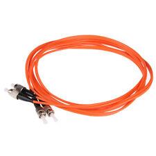 50M FC/UPC-ST/UPC Fiber Cable Multi Mode Duplex Fiber Optic Patch Cord Jumper