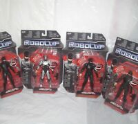 Set of 4 ROBOCOP LIGHT UP visor 1.0 & 3.0 Action Figures 2014