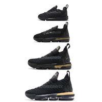 Nike LeBron XVI 16 James Im King Black Gold Basketball Shoes Family Size Pick 1