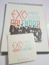 Exo Exo-K Exo M Calendar DVD 2014 Seasons Greetings Official Merchandise