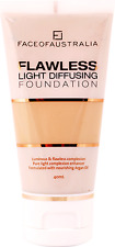 Face of Australia Flawless Light Diffusing Foundation, Honey 40mL