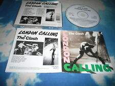 THE CLASH - LONDON CALLING UK CD REMASTERED/RESTORED W/FOLDOUT SLEEVE