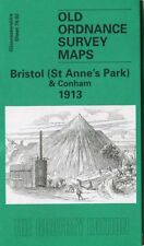ORDNANCE SURVEY MAP BRISTOL (ST ANNES PARK) & CONHAM 1913 FREE UK P&P