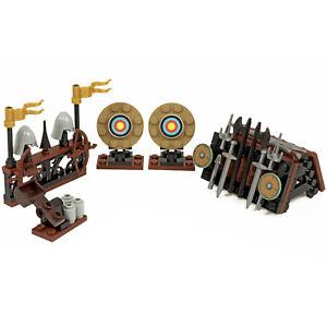 Castle Weapons / Archery Range | Blacksmith | Custom kit made with Real LEGO