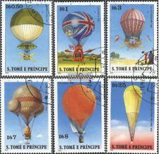 Sao Tome e príncipe 619-624 (edición completa) usado 1979 Globos