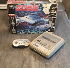 Super Nintendo Entertainment System - OVP - SNES