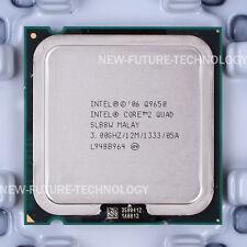 SLB8W - Intel Core 2 Quad Q9650 3 GHz 12 M 1333 MHz LGA 775 CPU US free shipping