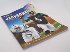 Nfl International Series - Jacksonville Jaguars vs Indianapolis Colts Programme