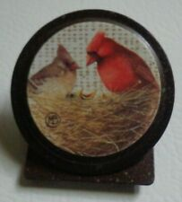 Marjolein Bastin Cardinal's Nest Magnet Clip Nature's Journey ~ Free Shipping
