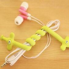 3* Nilpferd Elefant Ente Form Wickler Kopfhörer Kabel in Ordnung Machen HOT SALE