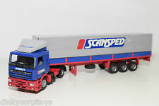 TEKNO DAF 95 TRUCK WITH TRAILER SCANSPED APHRODITE EXCELLENT CONDITION