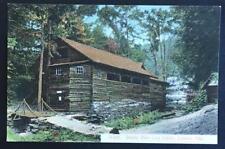 Shady Glen Log Cabin Catskill Mts SM Elliott A651