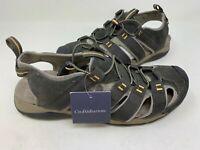 NEW! Croft & Barrow Men's Legato Ortholite Fisherman Sandals Olive #73277 186Q z