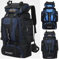 High Quality Extra Large 70L Travel Backpack Hiking/Camping Rucksack Luggage Bag