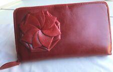 Filofax Red Leather Clutch The Purse Zippered Clutch Amp Personal Organiser