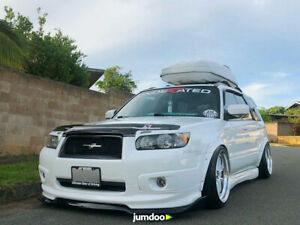 """JDM Fender flares for Subaru Forester wide body kit wheel arch 50mm 2.0"""" 4pcs"""