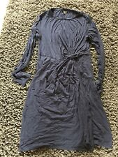 topshop maternity 10 Dress Navy. Ruched. Flattering