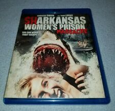 Sharkansas Womens Prison Massacre (Blu-ray Disc, 2016)*RARE *HALLOWEEN *HORROR