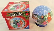 """Family Print 3-D 3"""" Puzzle Christmas Ball Ornament"""