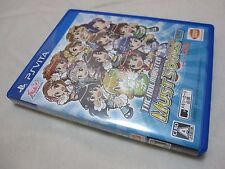 Not SAL 7-14 Days to USA PS Vita The IdolM@ster Must Songs Blue Ban Japanese Ver
