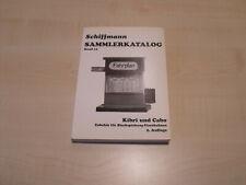 9111) Katalog Schiffmann - KIBRI und CABO - Spur 0 - 2. Auflage 1998 -