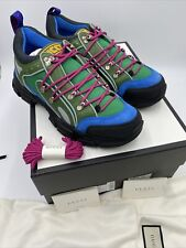 men's gucci flastrek sneakers size 10 made in Italy