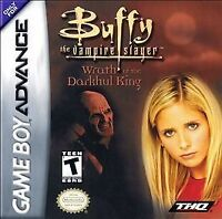 Buffy the Vampire Slayer: Wrath of the Darkhul King (Nintendo Game Boy Advance,