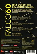 FALCO - FALCO 60 LIMITED EDITION  2 DVD NEU