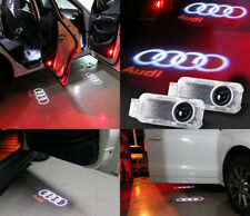New 2 LED Car Door Courtesy Laser Logo Light Shadow Projector For Audi A4 A6 Q7