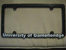 Phish License Plate Frame - U of Gamehendge not pin poster magnet coin Pollock