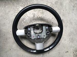 VW BEETLE BLACK LEATHER STEERING WHEEL