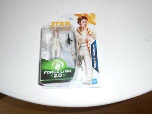 "Star Wars Force Link 2.0 Princess Leia Organa 3.75"" Action Figure Solo Hasbro"