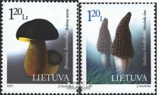 Lithuania 649-650 (complete issue) unmounted mint / never hinged 1997 Plants