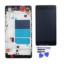 For Huawei P8Lite 2015 Screen Touch Screen LCD Display Digitizer+Frame~Black