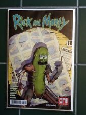 Rick and Morty Issue #37 Variant Cover Pickle Rick Oni Press Adult Swim Comic
