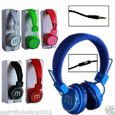 PDR*CUFFIE AURICOLARI STEREO AUDIO MICROFONO MP3 SMARTPHONE IPHONE SAMSUNG SY872