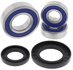 All Balls Motorcycle Rear Wheel Bearing Kit 25-1393 Wheel Bearing/Seal Kit