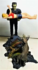 Victim Frankenstein Moebius Aurora  Professionally Built AIRBRUSH Monster Model