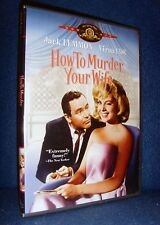 How to Murder Your Wife (DVD 2002) Mint•No Scratches•US•Out-of-Print•Jack Lemmon