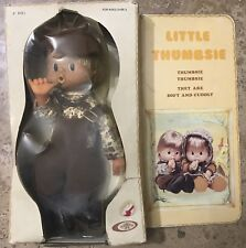 """Vintage 1976 Playmates 9"""" Little Thumbsie  Doll Soft and Cuddly."""